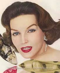 the history of 1950s makeup