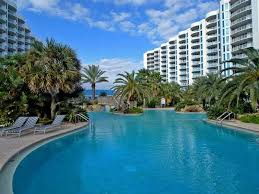 has terrace and shared outdoor pool unheated al in destin fl