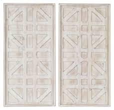dubem antique white wall decor set 2 cn  on antique white wood wall art with dubem antique white wall decor set 2 cn a8010048 wall art