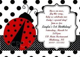 Ladybug Invitations Template Free Ladybug Birthday Invitations Invitation Templates Free