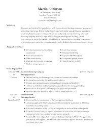 Commercial Real Estate Broker Resume Example Examples Mortgage