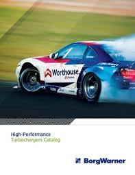 Borgwarner High Performance Turbochargers Catalog Efr