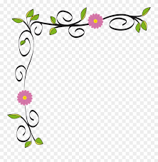 Graphic Design Png Free Download Graphic Free Stock Floral Border Vectorized By Gdj Flower