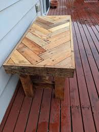 outdoor pallet wood. Introduction: Reclaimed Pallet Wood Herringbone Outdoor Bench O