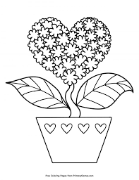 54 valentine's day printable coloring pages for kids. 20 Valentines Coloring Pages Happiness Is Homemade