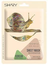 Shary <b>омолаживающая тканевая маска</b> Муцин улитки и центелла ...