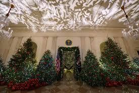 Weißes Haus Weihnachtsdeko Von Melania Trump Löst