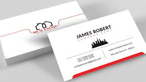 business card tamplate clean illustrator business card design with free template download