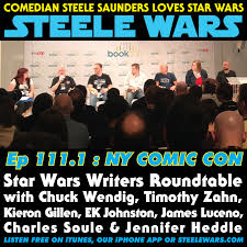 Writers Round Table Ep 1111 New York Comic Con Star Wars Writers Roundtable