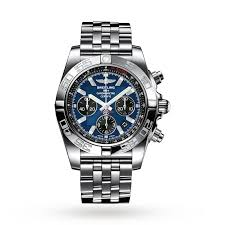 breitling chronomat mens watch luxury watches watches goldsmiths breitling chronomat mens watch