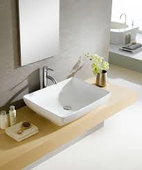 vitreous china oblong white vessel sink ping great deals on bathroom sinks