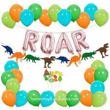 Rose Gold <b>Banner Balloon</b> Garland Birthday Cake Toppers <b>Dino</b> ...