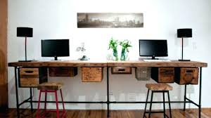 office desks for two. Home Office Ideas For Two Side Desk  By With Regard To Plan 4 Office Desks For Two
