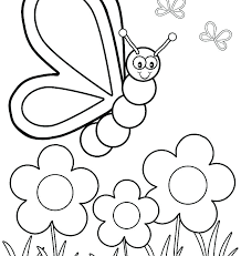 Spring Coloring Pages Free Printable Free Spring Colouring Pages