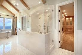 walls shower how to build a half wall shower bathroom contemporary with gray walls shower enclosure dressing area inexpensive shower wall options
