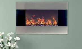 ideas stainless steel electric fireplace up to 55 off on northwest groupon good with wall mount