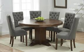 dark wood round dining table round dining tables