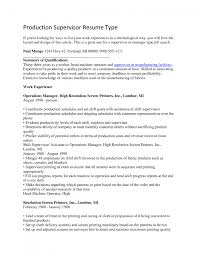 production supervisor resume objective cipanewsletter cover letter shift supervisor resume shift manager resume