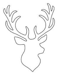37c083d06525e7ffe96e226359754577 stag head deer heads 25 best ideas about stencil templates on pinterest templates on arrow templates cute big