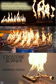 diy build your own fire pit our crossfire brass burner system was elished with a specific air to gas mixture ratio which produces a taller