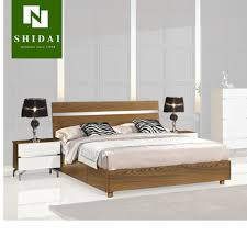 Modern Full Queen Size Platform Bed Frame With Drawer Bedroom Furniture Sleep B-823, View Platform Bed Frame, SHIDAI Product Details from Foshan City ...