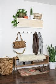 Coat Rack Diy Mesmerizing Simple DIY Coat Rack HAWTHORNE AND MAIN