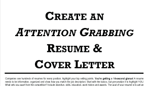Creating A Good Resume How To Create Cover Letter For Cv How To Create A Good Resume And