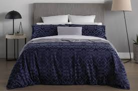 sheridan challis quilt cover navy