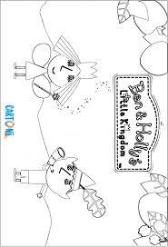Il Piccolo Regno Di Ben E Holly Da Colorare Cartoni Animati