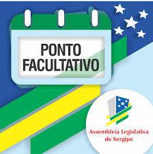 Canal ponto facultativo, rio de janeiro. Aviso Ponto Facultativo Assembleia Legislativa De Sergipe