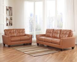 Orange Living Room Set Buy Paulie Durablendar Orange Living Room Set By Benchcraft From