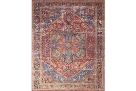 red and teal rug rug magnolia home red blue by red brown teal rug