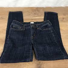 J Crew Denim Size Chart J Crew Jeans Womens Skinny Denim J Crew Depop