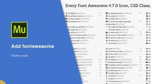 How To Add Fontawesome In Adobe Muse Cc Youtube