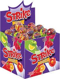 <b>Карамель на палочке</b> Strike с жевательной конфетой, 11 г ...