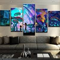 <b>Canvas Painting</b> Abstract Wall <b>Art</b> Home Decor For Living Room <b>5</b> ...