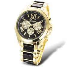 aliexpress com buy geneva brand analog quartz wristwatch for men aliexpress com buy geneva brand analog quartz wristwatch for men women casual sport gold watch waterproof relogio masculino 6 colors