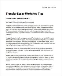 transfer college essay examples transfer college essay examples 29 examples of college essays