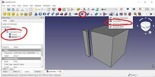 Freecad Part Design Workbench Explode Compound Tool For Part Workbench Slice Apart