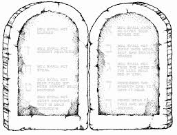 Free Printable Ten Commandments Coloring Pages Zoloftonline Buyinfo