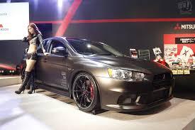 mitsubishi lancer 2015 black. mitsubishi lancer evolution x final concept tokyo auto salon 2015 black o