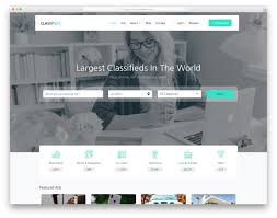 Newspaper Classified Ads Template Best Free Classified Ads Website Templates 2019 Colorlib