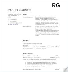 Resume No Work Experience Template Best Sample College Student
