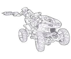 Halo Coloring Pages Getcoloringpagescom