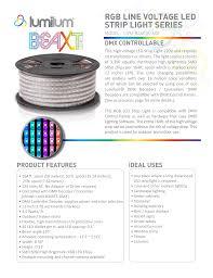 Line Voltage Led Lights Rgb Line Voltage Led Strip Light Series Manualzz Com