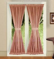 french doors with curtains. French Doors With Curtains E