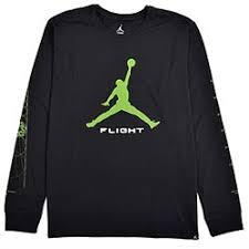 jordan clothing. jordan m jsw t-shirt aj13 altitude black/altitude green clothing