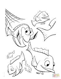 Fresh Finding Nemo Coloring Pages Montenegroplaze Free Coloring Book