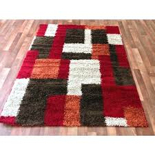 red and white striped rug red and white rug red modern blocks gy area rug red red and white striped rug