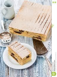 Indonesian Layered Cake Quay Lapis With Prunes Stock Image Image